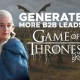 Generate More B2B Leads The Game Of Thrones style