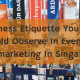 5 Business Etiquette You Should Observe In Events Telemarketing In Singapore
