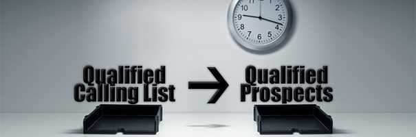The Basic Telemarketing Equation Qualified Calling List = Qualified Prospects