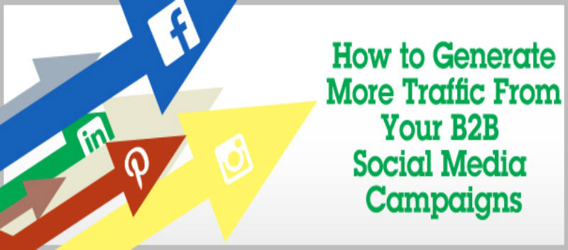How to generate more traffic from your B2B Social Media Campaigns