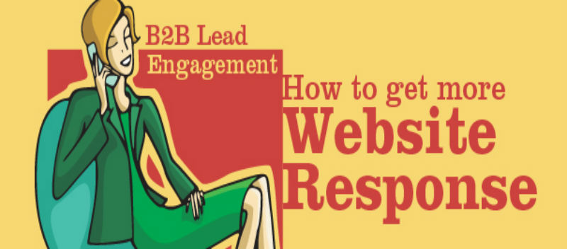 B2B Lead Engagement  How to get more Website Response