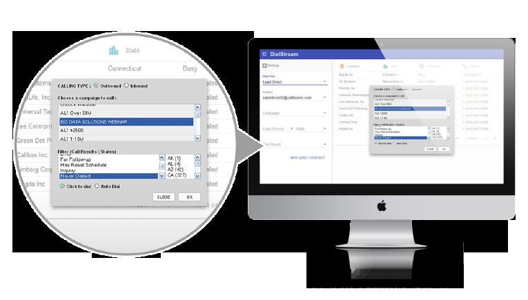 DialStream Auto-Dial Feature