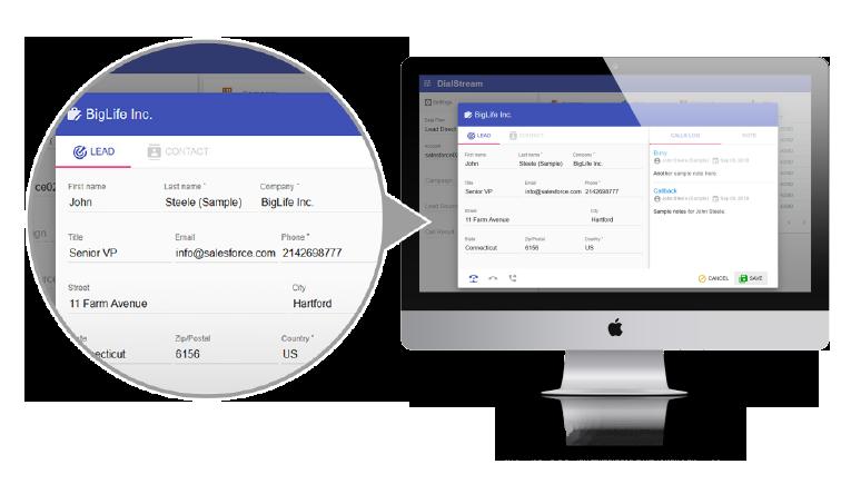 DialStream Smart Contextual data