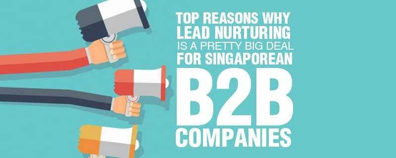 Top Reasons why Lead Nurturing is a Pretty Big Deal for Singaporean B2B Companies