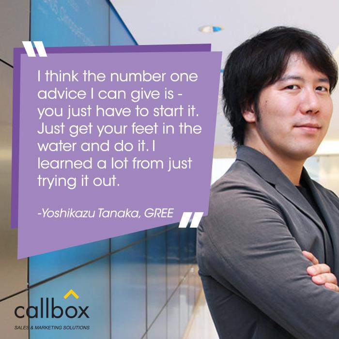 Yoshikazu Tanaka Quote