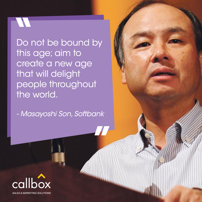 04 Masayoshi Son Quote