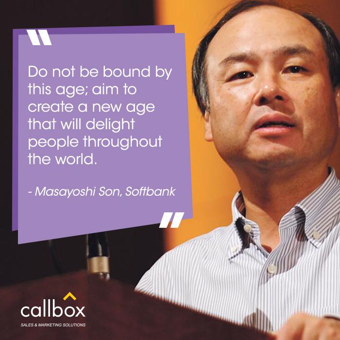 04 Masayoshi Son Quote