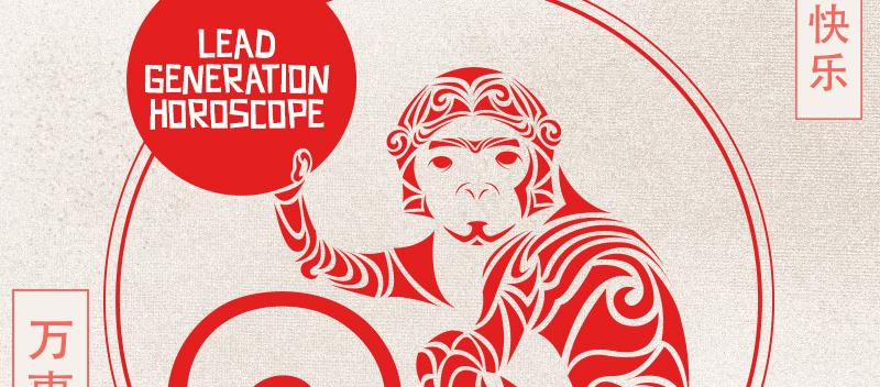 Lead Generation Horoscope in the Year of the Monkey for Singapore
