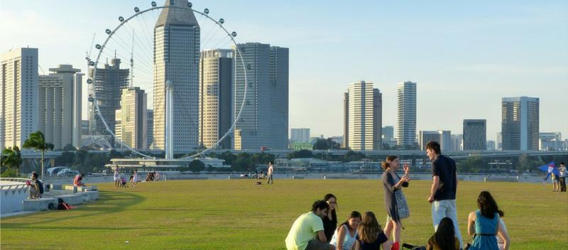 The New Year's Resolution of A Singaporean Businessman