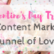 Valentine's Day Treat: The Content Marketing Funnel of Love