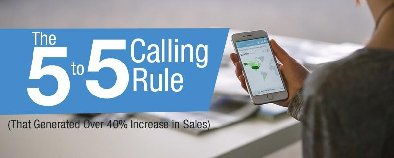 Follow up Inbound Leads with 5 to 5 Calling Rule (And Increase Sales)