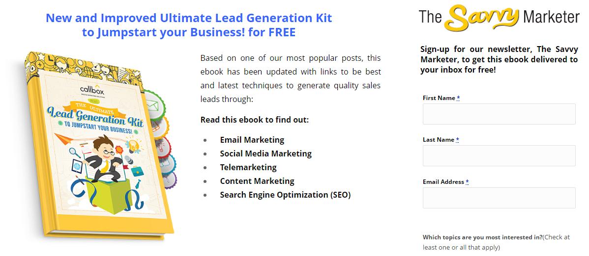 Lead Generation Kit