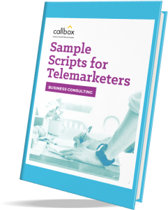 sample scripts with rebuttals for consulting telemarketing campaign