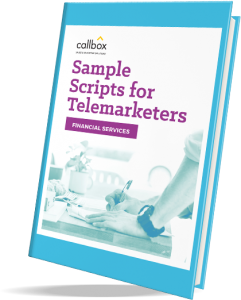 sample scripts with rebuttals for financial telemarketing campaign