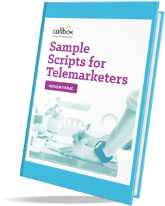 sample scripts with rebuttals for advertising telemarketing campaign