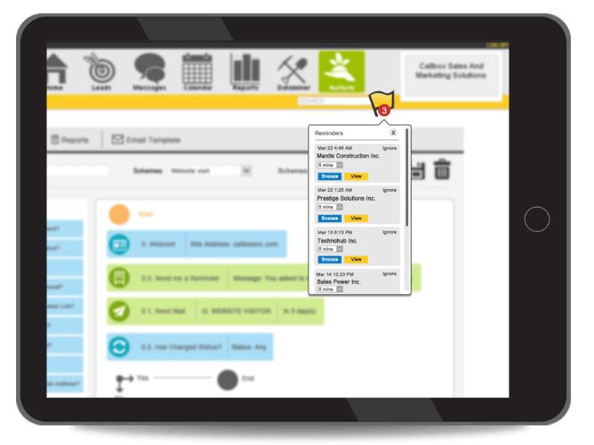 lead nurture tool 3 - callbox