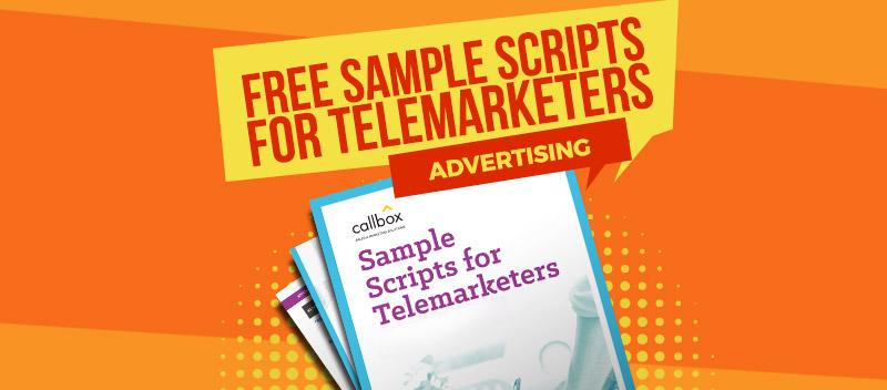 Sample Telemarketing Scripts for Advertising