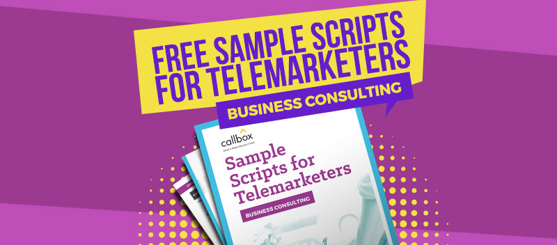 Sample Telemarketing Scripts for Business Consulting