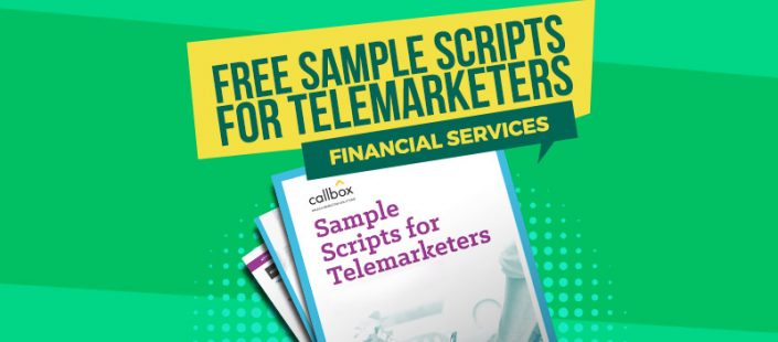 Sample Telemarketing Scripts for Financial Services