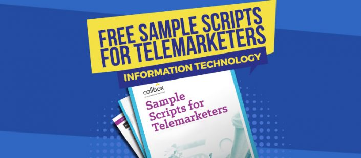 Sample Telemarketing Scripts for Information Technology
