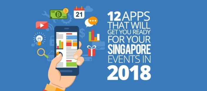 12 Apps That Will Get you Ready for your Singapore Events in 2018