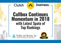 Callbox Continues Momentum in 2018 with Latest Spate of Top Rankings