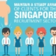 Maintain a Steady Array of Clients for the Singapore Recruitment Sector