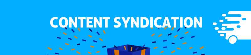 #3 Content syndication
