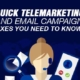 Quick Telemarketing and Email Campaign Fixes You Need to Know