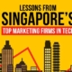 Top Lessons from Singapore's Top Marketing Firms in Tech
