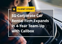 SG Corporate Car Rental Firm Expands in 4-Year Team Up with Callbox (Featured Image)