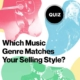 Quiz Which Music Genre Matches Your Selling Style