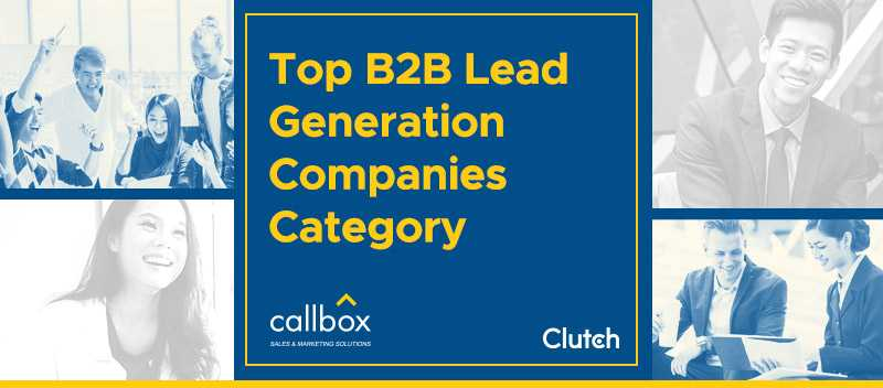 Top B2B Lead Generation Companies Category (Section Image)
