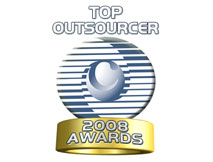Awards & Recognition - Top Outsourcer 2008 Awards