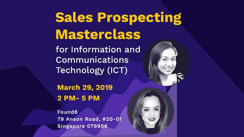 Sales Prospecting Masterclass for Information and Communications Technology