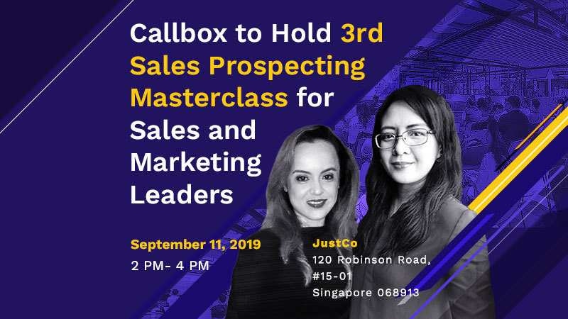 Callbox to Hold 3rd Sales Prospecting Masterclass for Sales and Marketing Leaders (Featured Image)