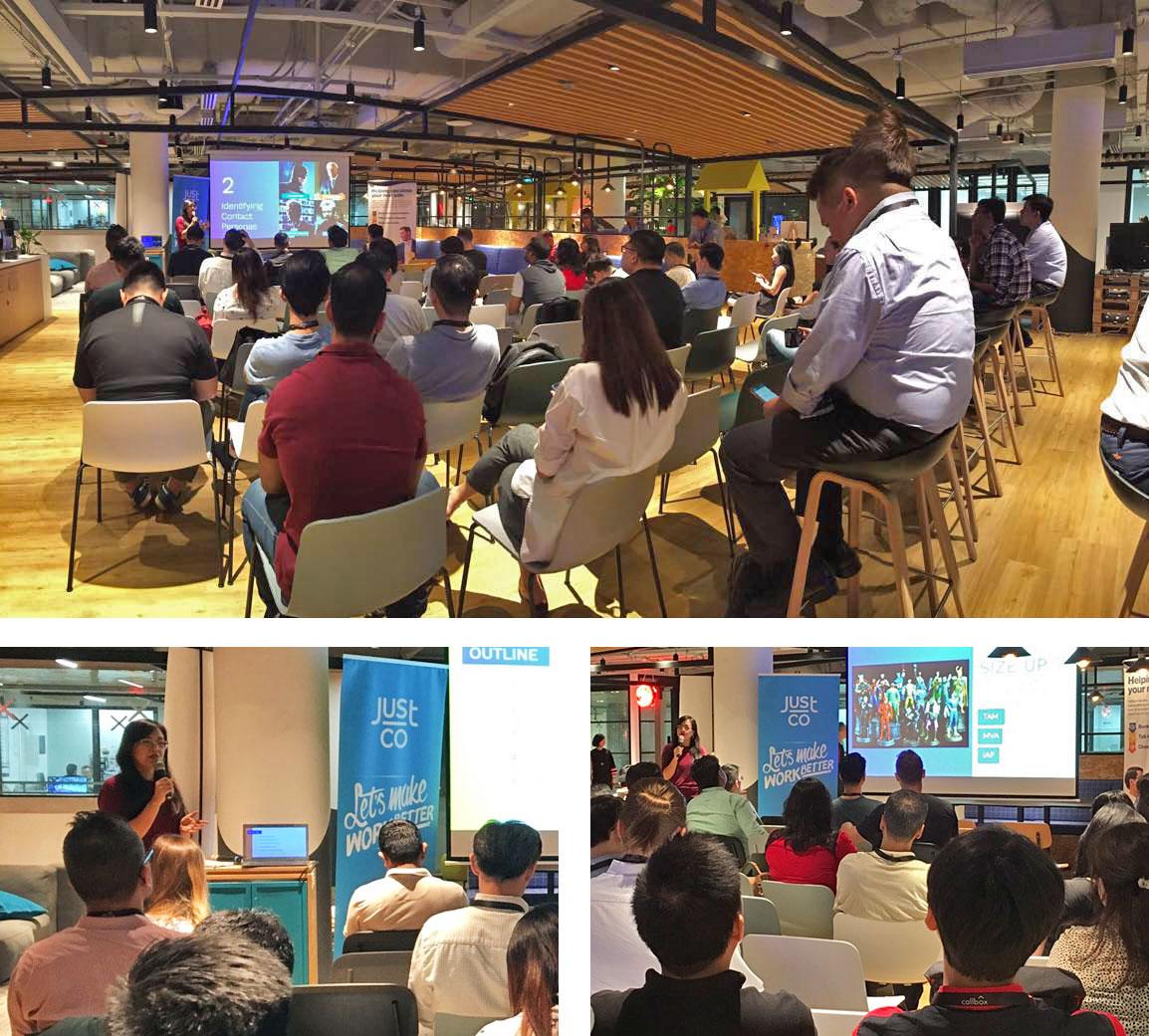 Callbox Singapore Sales Prospecting Masterclass Attendees