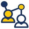 Icon that represents lead generation
