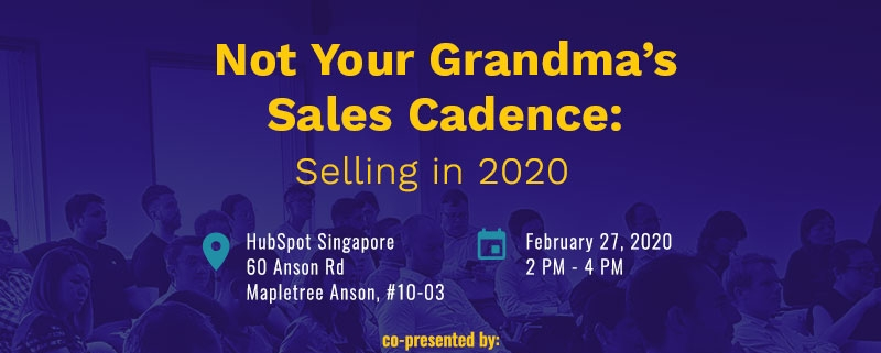 Not Your Grandma's Sales Cadence: Selling in 2020 (Featured Image)