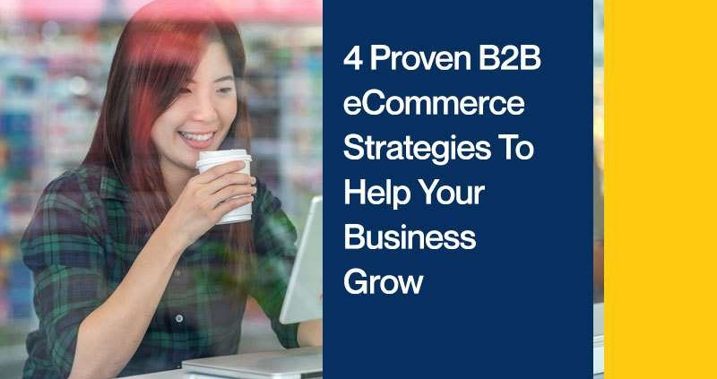 4 Proven B2B eCommerce Strategies To Help Your Business Grow