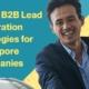 APAC B2B Lead Generation Strategies for Singapore Companies