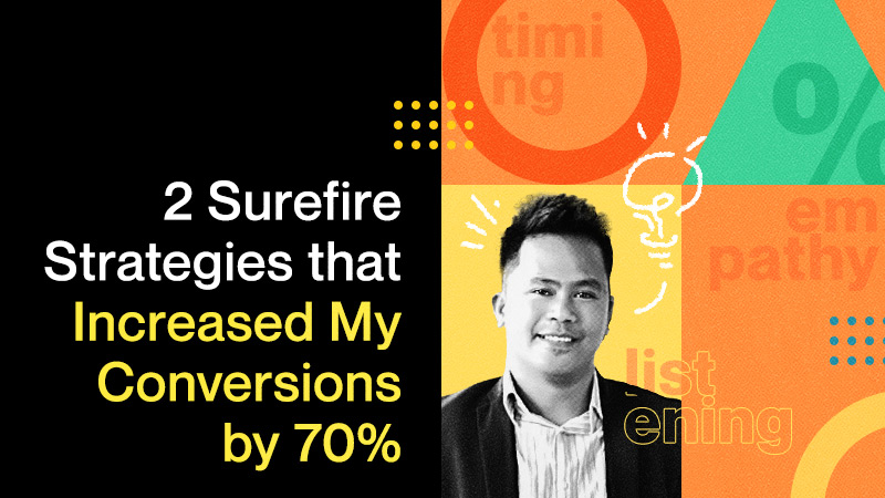 2 Surefire Strategies that Increased My Conversions by 70%