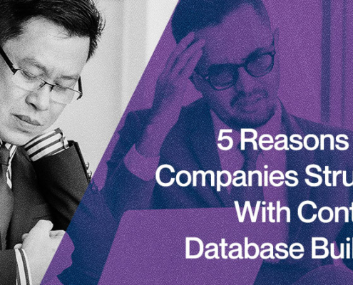 5 Reasons Why Companies Struggle With Contacts Database Building